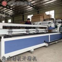 护墙板铣槽机厂家定制供应机械