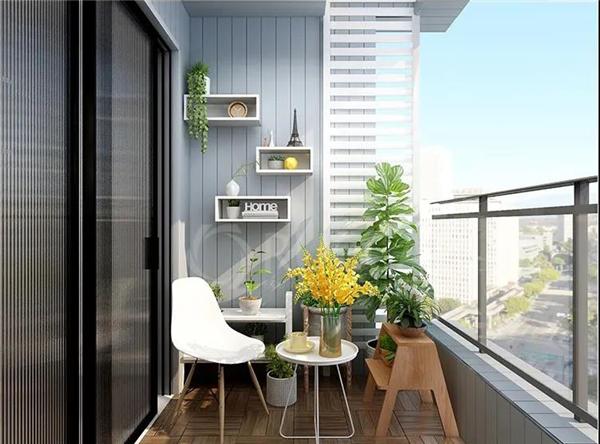 格霖木阳台定制装修效果图图片