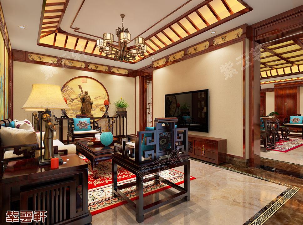 中式传统豪宅装修设计