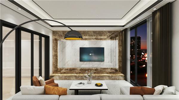 普罗米集成墙板背景墙装修效果图图片