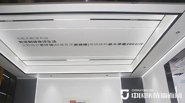 嘉兴展:鼎美蜂巢板 顶墙4.0所向披靡