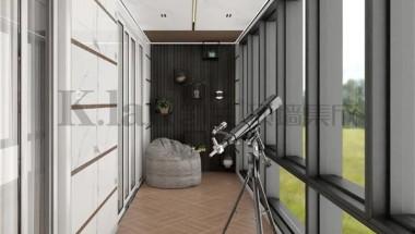用凯兰顶墙,阳台装修颜值实用一手抓,让家更高级